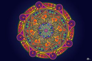 Clover Mandala by OtherSideImage