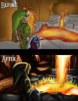 Fire temple, here we come, remake by TheLegendOfLink