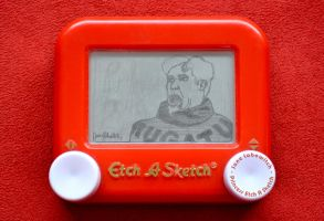 Mugatu Etch A Sketch by pikajane