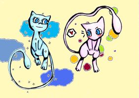 Mew-AND-Mew by Mitsukichan17