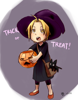 FMA: TRICK or TREAT! by qianying
