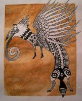 The Gryphon King by Anima-Lux-Artifex