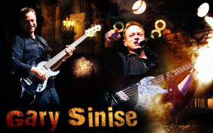 Gary Sinise guitar by Anthony258