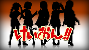 K-On! MMD Wallpaper by Crystallyna