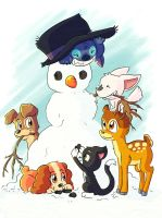 SS -Snowman- by LeniProduction