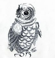 Owl Ink by eggsistoast
