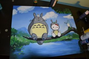 hello totoro by hellojuliee