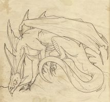 Dragonsketch002 by mythori