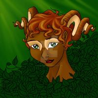 Faun by SparklersOasis