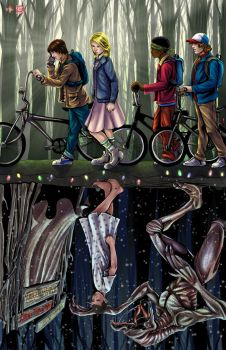 Stranger Things by WiL-Woods