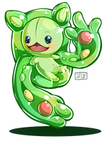 Pokemon - Reuniclus by Electrical-Socket