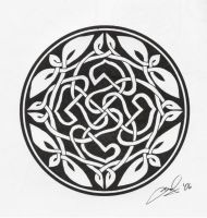 Yet another celtic knot by phaerielike