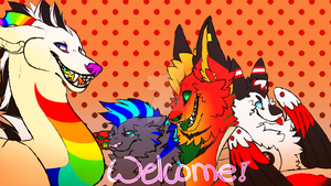 Youtube Channel Art 2015 by redandblackfennec
