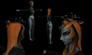 Midna, Uncloaked by DarklordIIID