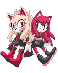 :the pinkytwins: by amaichan