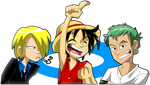 One Piece Dudes by s0s2