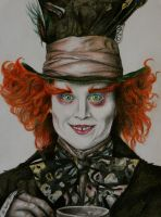 The Mad Hatter by jennanoordstra