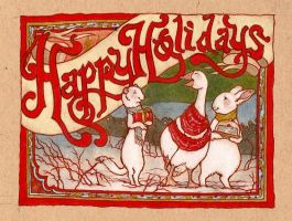 happy holidays by luve