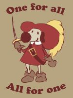 One for all... by iron-lace