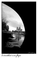 walking by Notre Dame by Kemao