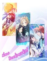 Bookmark set 2 by Nardhwen