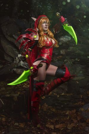 Valeera by cibo-black-cat