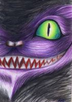 Cheshire Cat by Curubysorai
