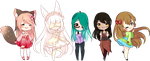 Stream Chibis by Reminel