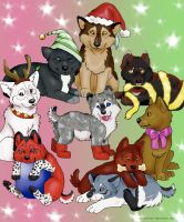 2011 Wolf Xmas Gifts 2 by NatsumeWolf