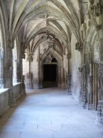 Cloister 2 by Cat-in-the-Stock