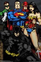 Justice League by MarcioAbreau by darkknightstrikes
