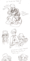 Shadow Hearts Sketch Dump 2 by Sakurarmarie