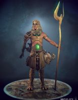 Hermes Trismegistus Model by GastonBR