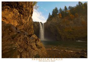 Snoqualmie Falls by Raymaker