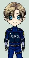 Collect-a-Bishie__Leon Kennedy by IrisHime