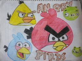 angry birds by maryphantom11