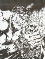 Hulk v Ghost Rider draft by lroyburch