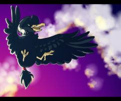 Murkrow by wolffeather