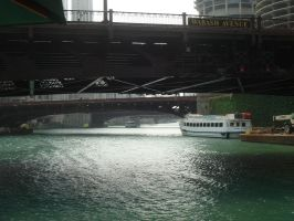 Bridges Over the Chicago River by LaLiLuLeLooo