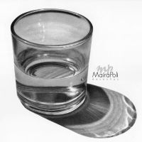 Transparency/Glass of water by Mahbopoli