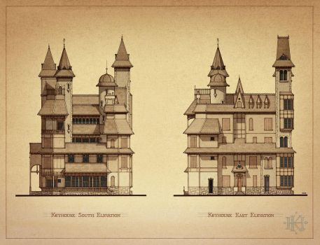 Keyhouse Elevations 2 by GabrielRodriguez
