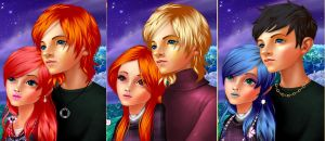humanized transformers couples by mystangelwingsstock