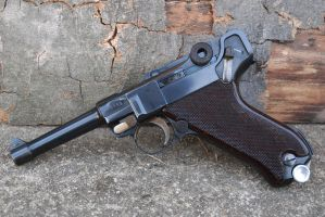 Krieghoff S Code Transitional Luger Luftwaffe by PLutonius
