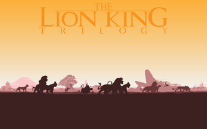 The Lion King Trilogy silhouet by Samoht-Lion