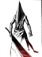 Pyramid Head by darkness127