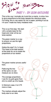 How to draw Monica by LeonKatlovre