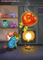 GPK Glass Blow Joe by DeJarnette