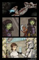 "Clone Wars Comic ""Transfer""4 by katiecandraw"