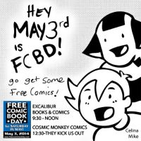 FREE COMIC BOOK DAY 2014 PROMO by ChibiCelina