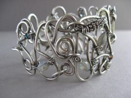 Freeform Sterling Cuff by maryeb